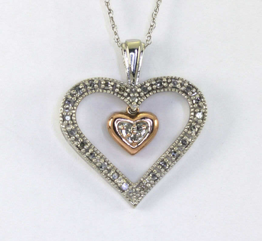 Mother's Day Double Heart Pendant